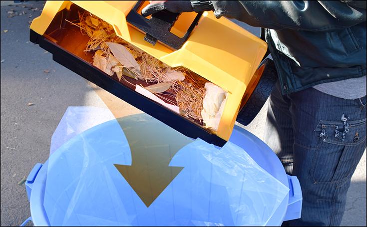 スイーパー 屋外 落ち葉 掃除機 集塵機 集じん機 手押し式